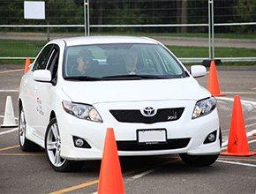Занятия на иномарках и отечественных авто